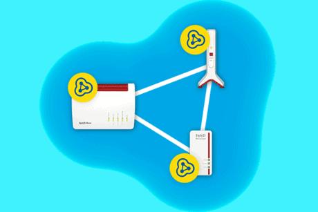 FRITZ!Repeater 3000 recensione rete mesh esempio pratico