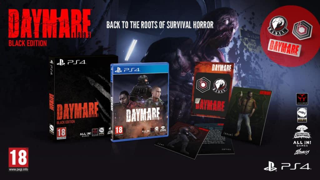Daymare 1998 black edition  - videogiochi fai da te