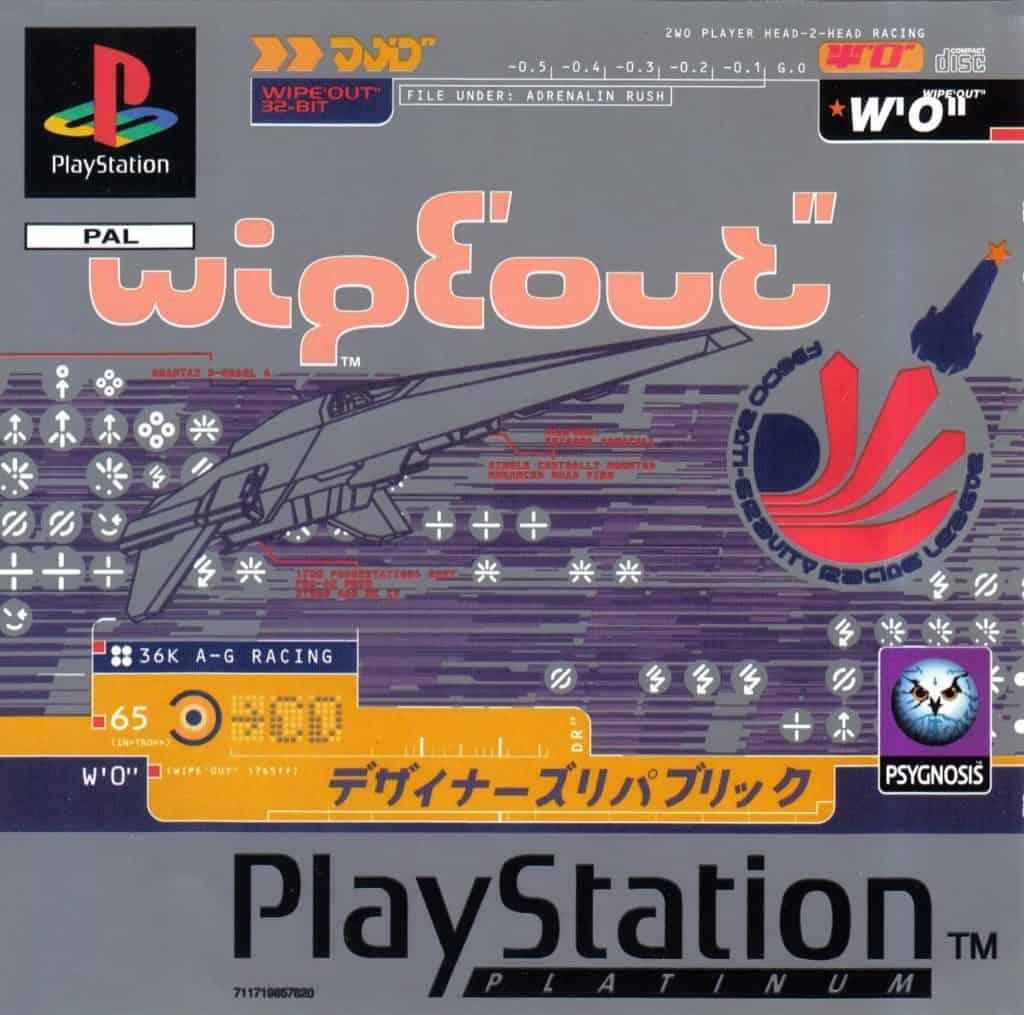 wipeout storia del videogioco giapponese