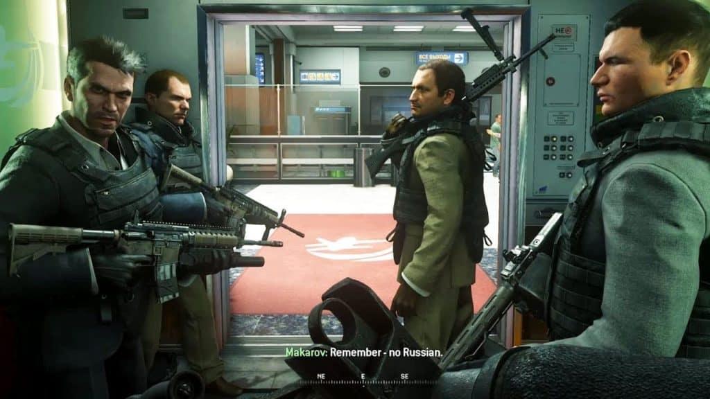 modern warfare 2 campaign remastered niente russo