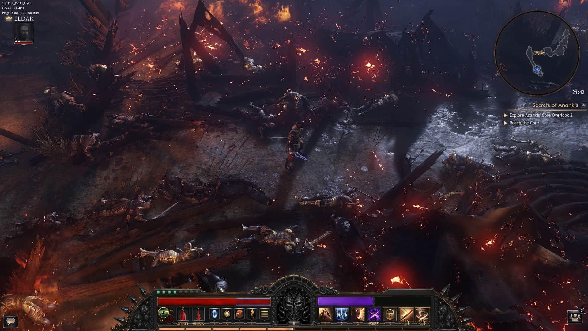 Immagine di una battaglia in Wolcen: Lords of Mayhem