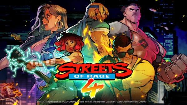 streets of rage storia