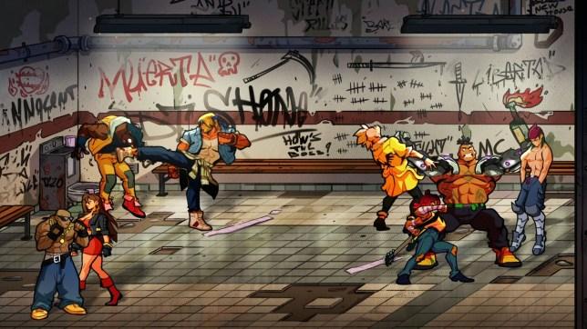 Streets Of Rage cooperativa