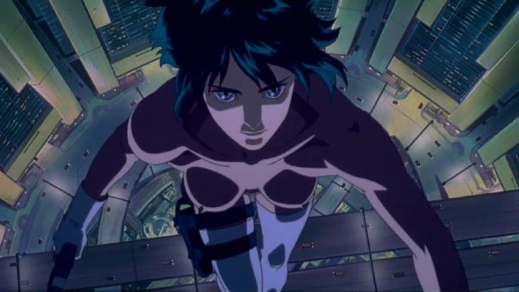 Motoko Kusanagi di Ghost in the Shell
