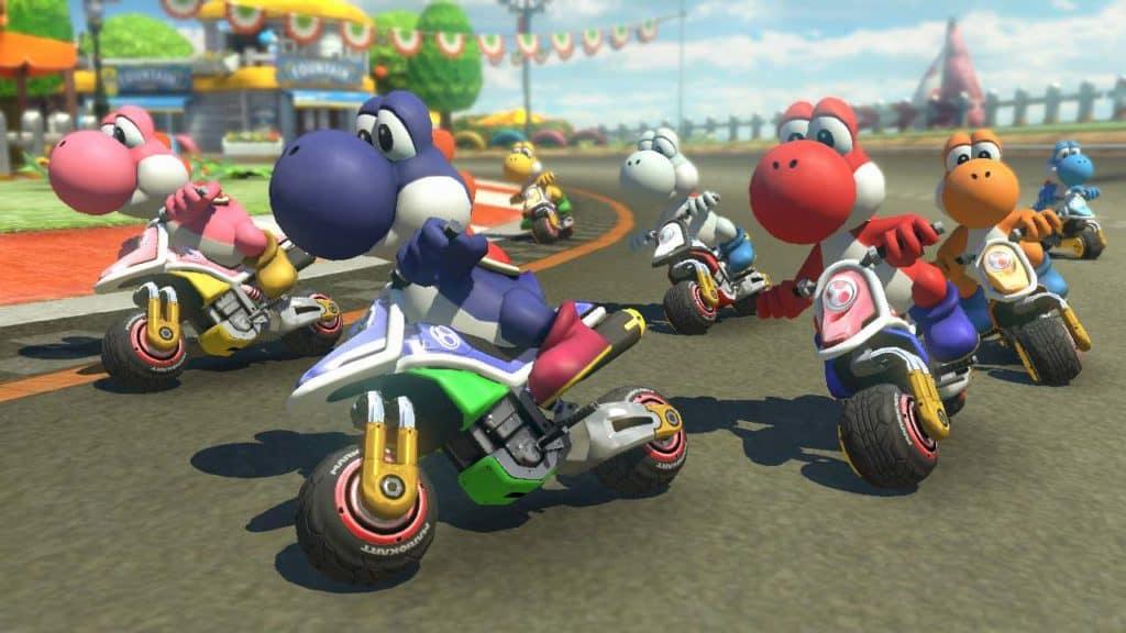 yoshi colorati sulle moto