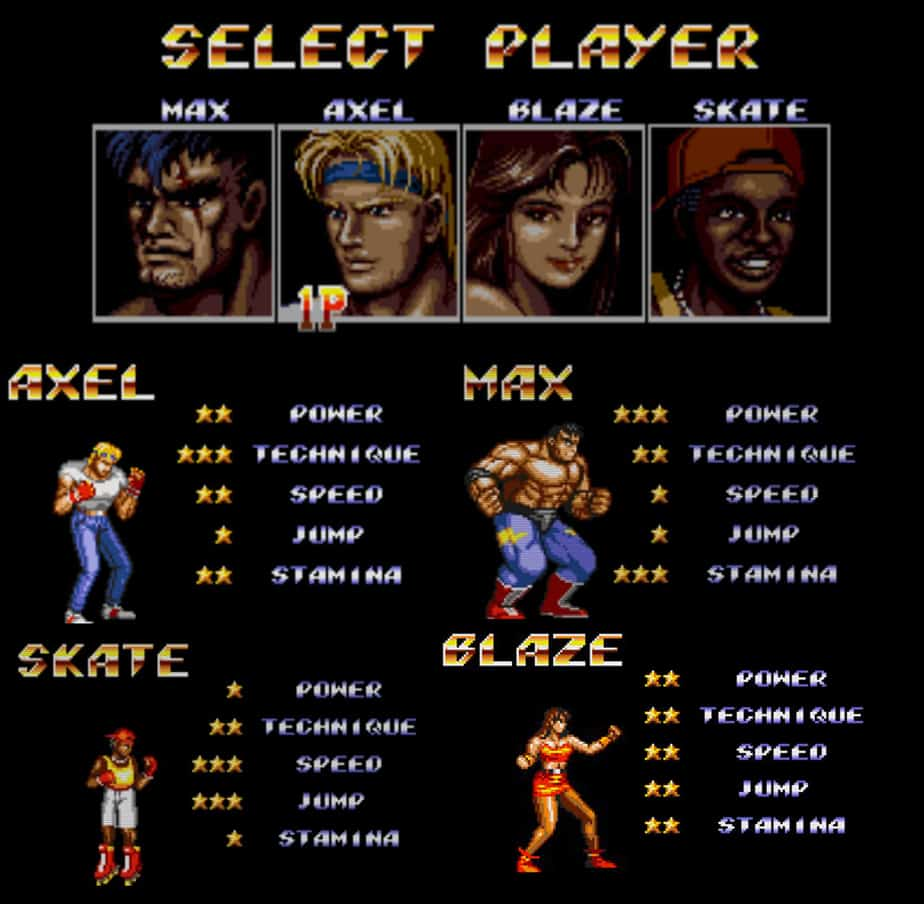 Streets of Rage morte