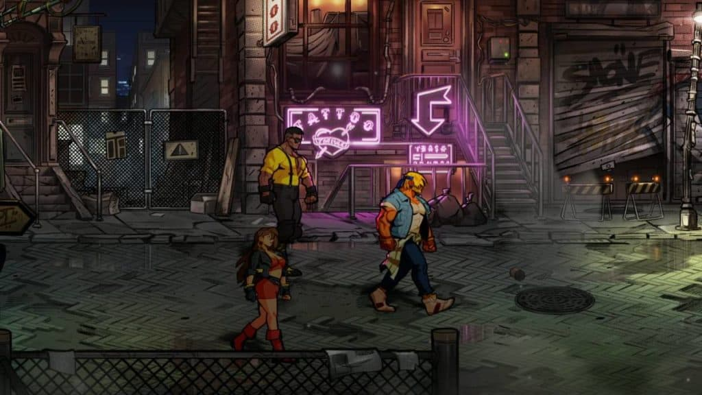 Streets of Rage 4 Fanservice