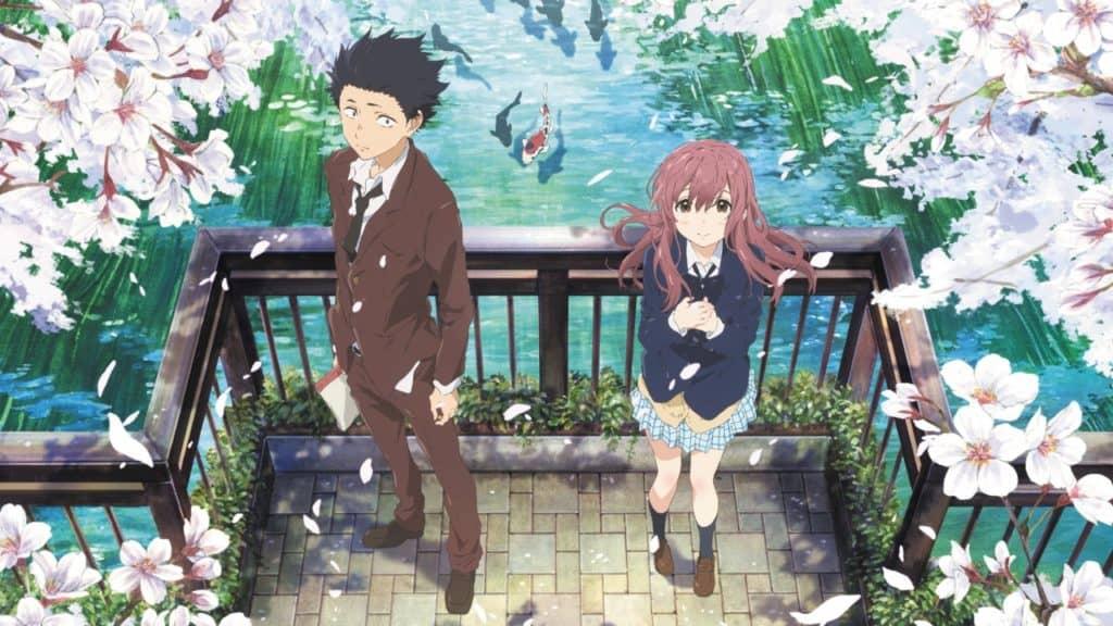Ishida e Nishimiya accanto