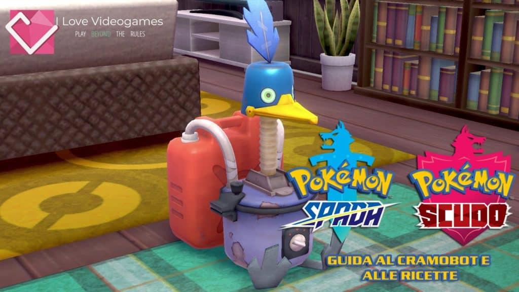 Il CramoBot, una delle nuove funzioni del primo DLC di Pokémon Spada e Scudo