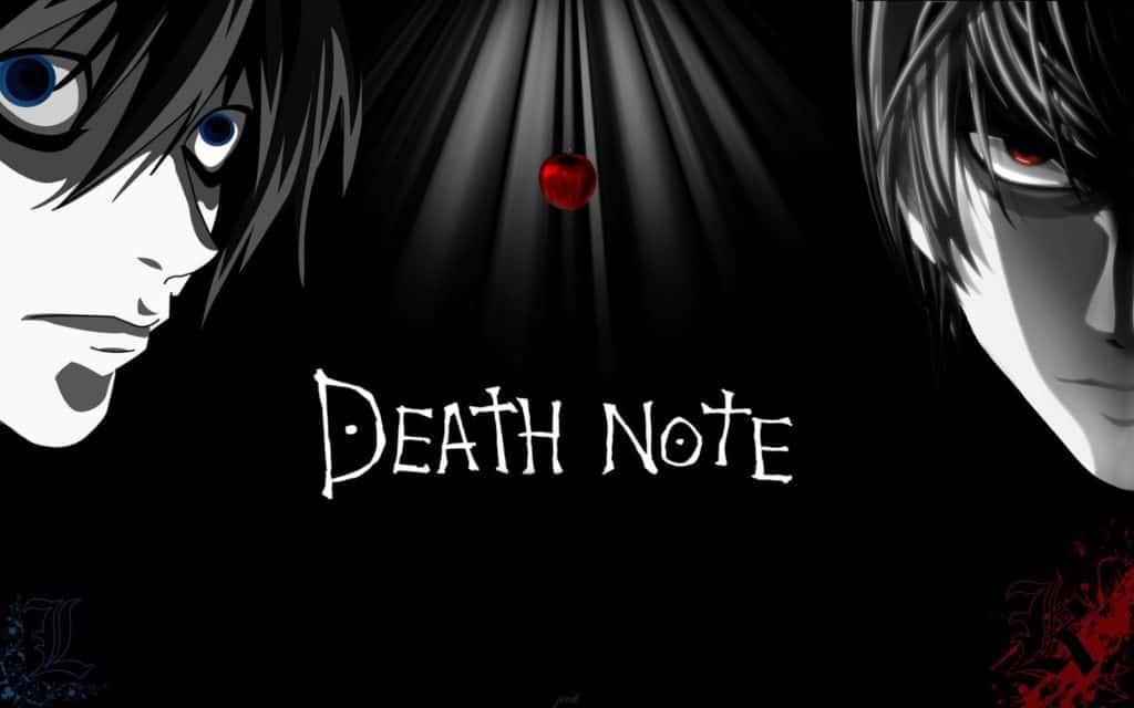 La copertina di Death Note con Light Yagami e L