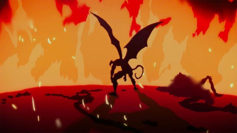Devilman dopo la strage dell'episodio 9