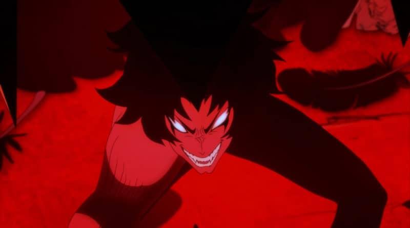 La forma demoniaca di Akira Fudo, cioè Devilman