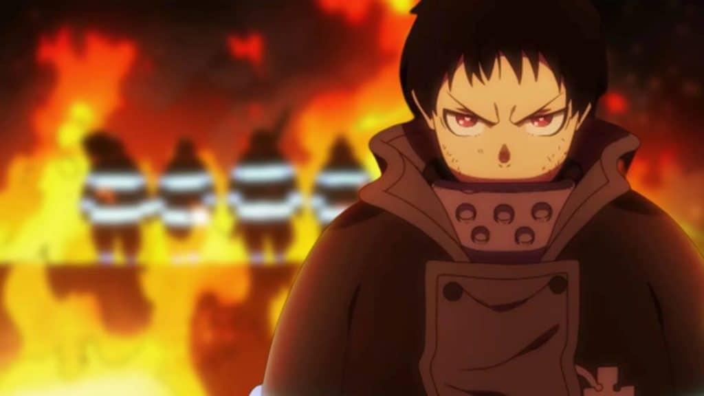 Shinra Kusakabe nella nuova stagione di Fire Force