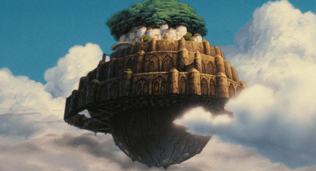 La fortezza nel cielo Laputa