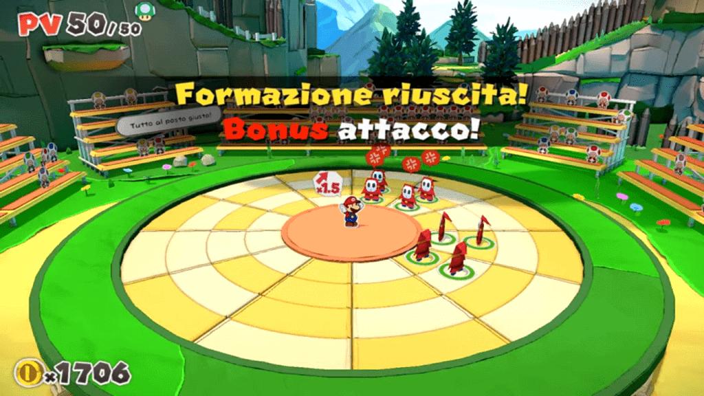 Paper Mario Origini: combattimento