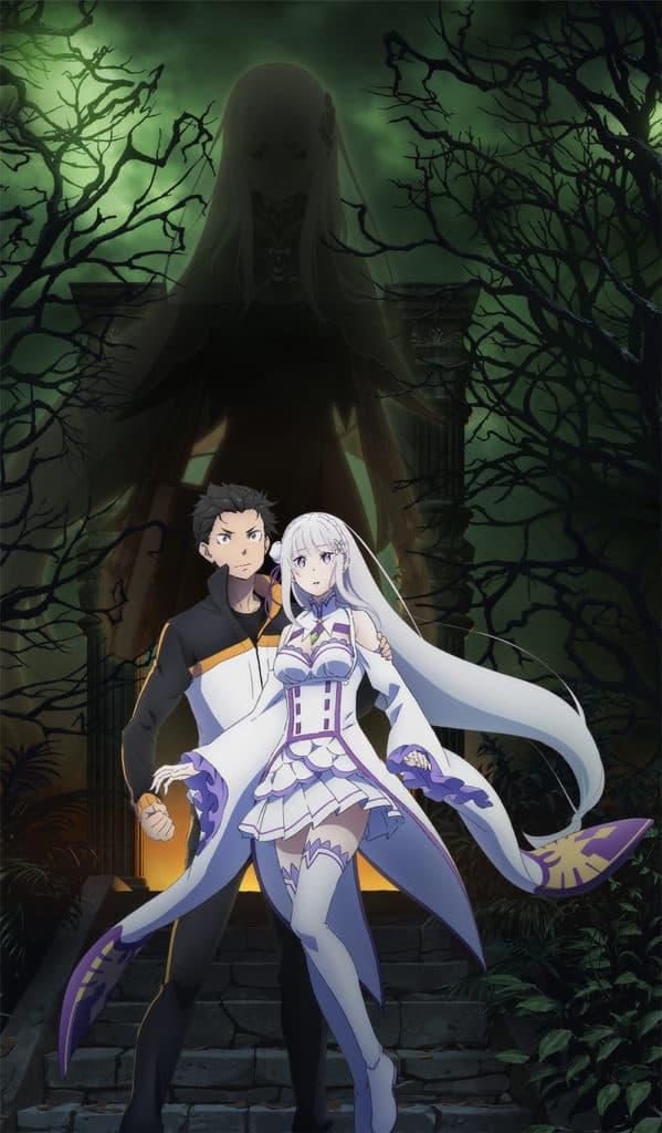 Subaru ed Emilia di Re:Zero nella nuova copertina della seconda stagione