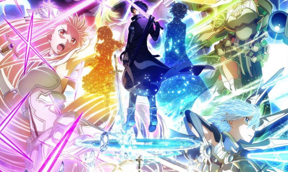 Kirito e altri personaggi iconici di Sword Art Online