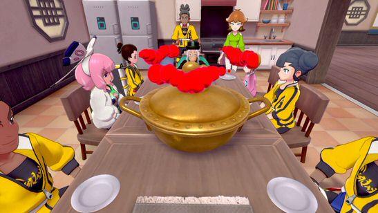 I personaggi a tavola con la Zuppamax