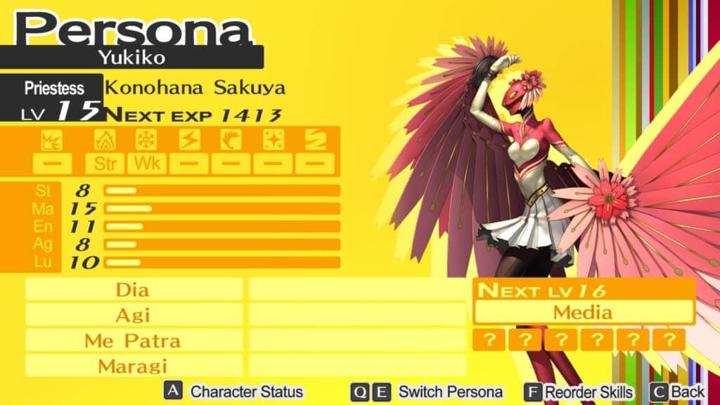 La Persona di Yukiko, Konohana Sakuya