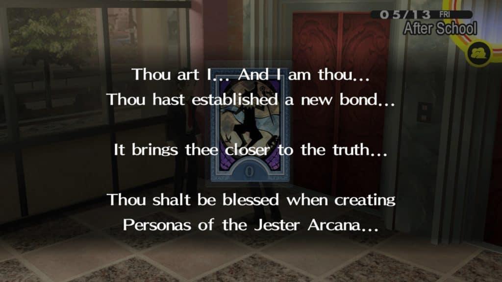 Social link di Tohru Adachi