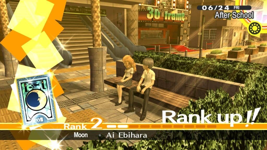 Rango 2 del Social Link con Ai Ebihara
