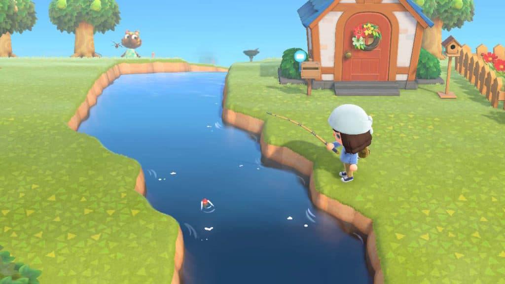 Pesca su Animal Crossing: New Horizons