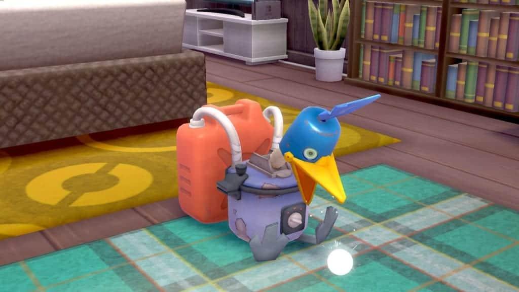 Il Cramobot nel nuovo DLC di Pokémon Spada e Scudo