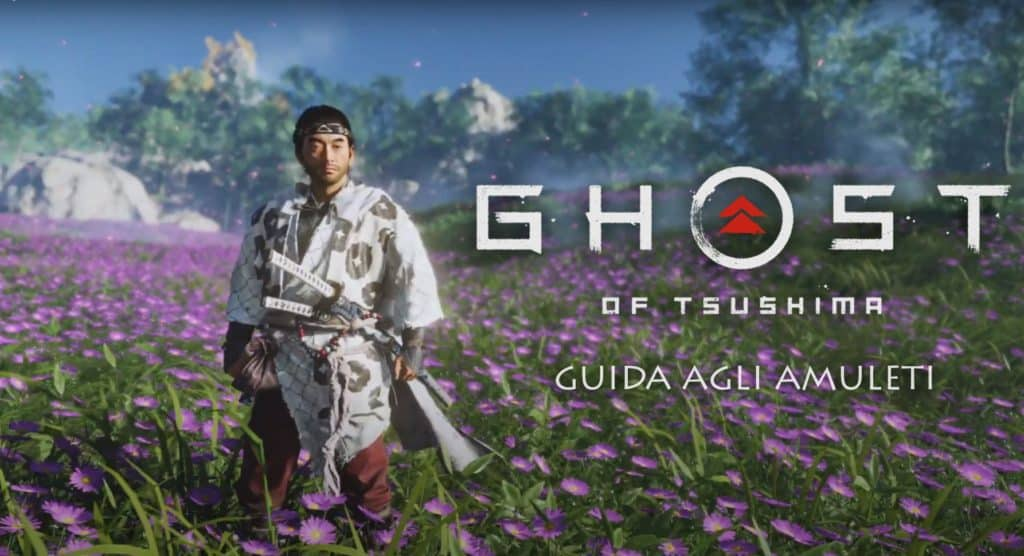 Gli amuleti su Ghost of Tsushima