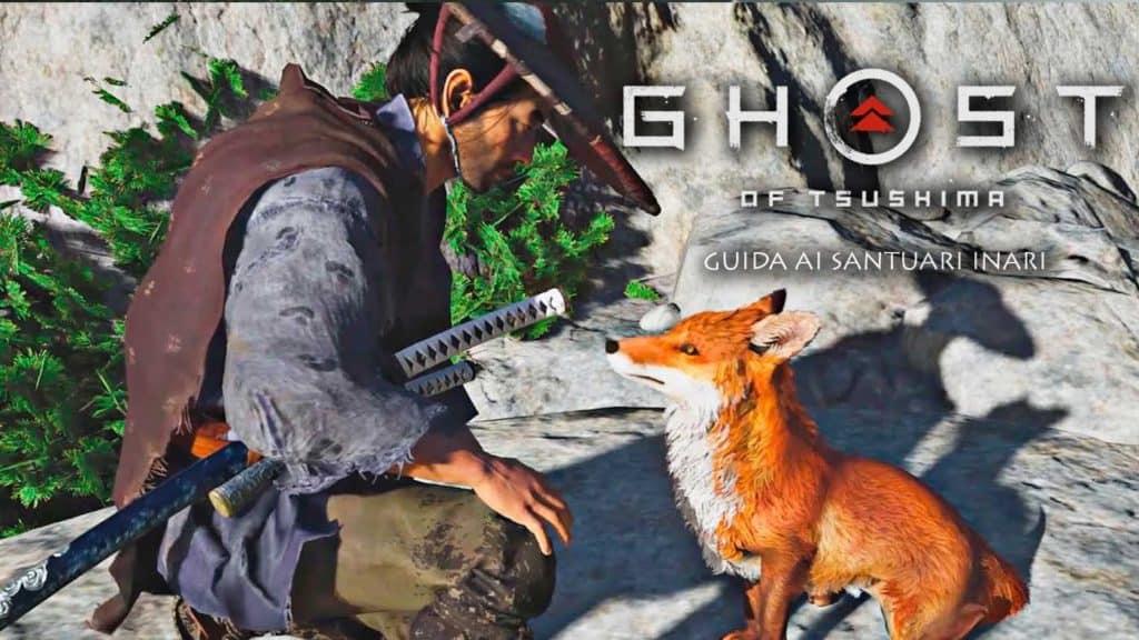 L'incontro tra un samurai e una volpe in Ghost of Tsushima