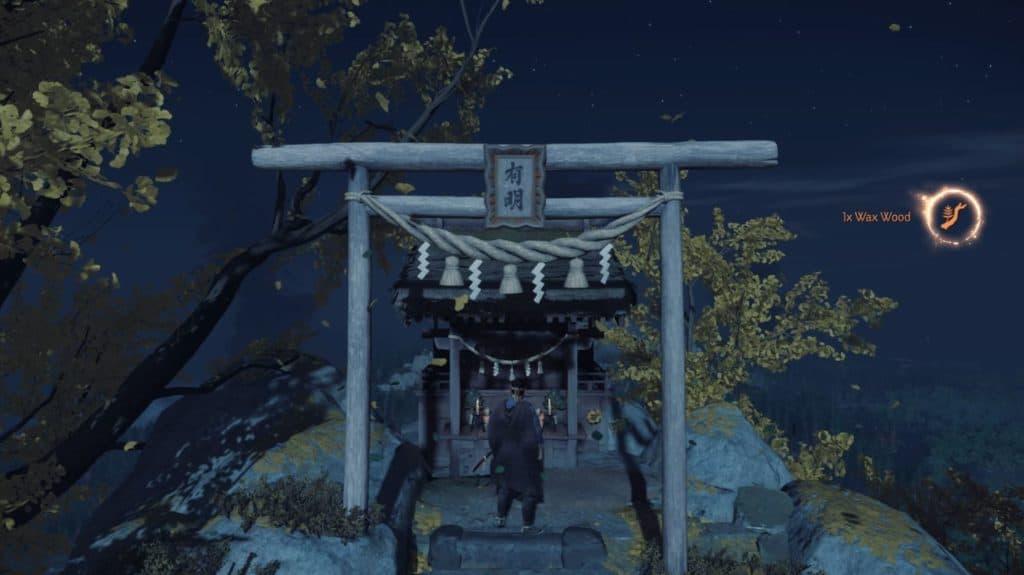 Un Santuario Shinto in cima a una montagna