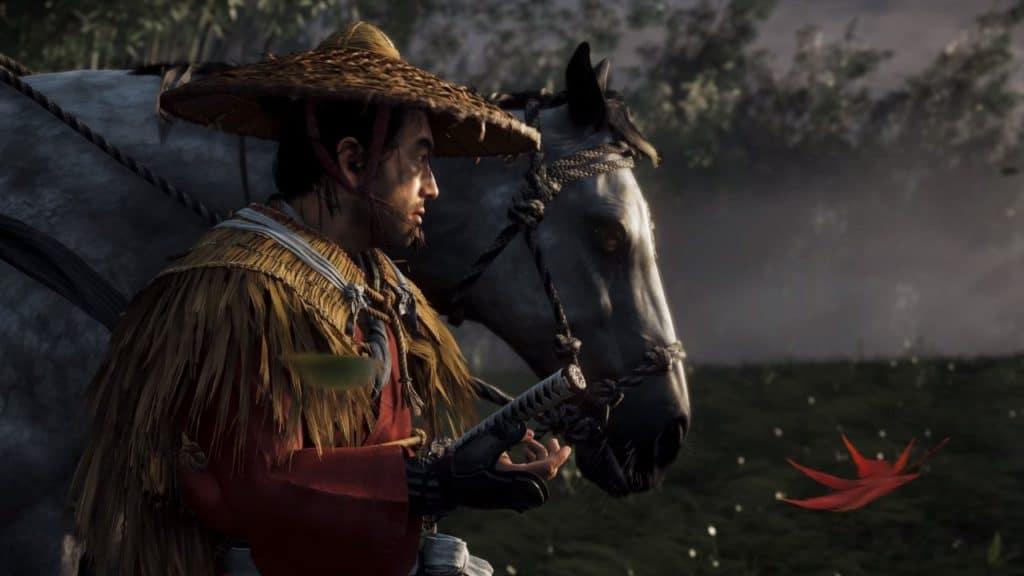 Jin accompagna il suo cavallo