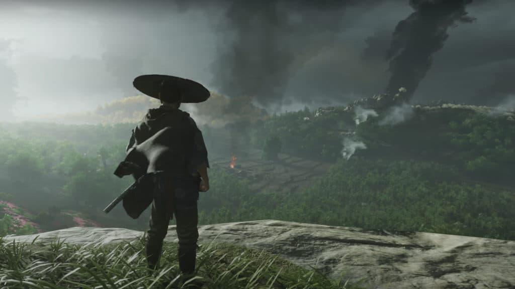 Jin vede del fumo alzarsi da lontano