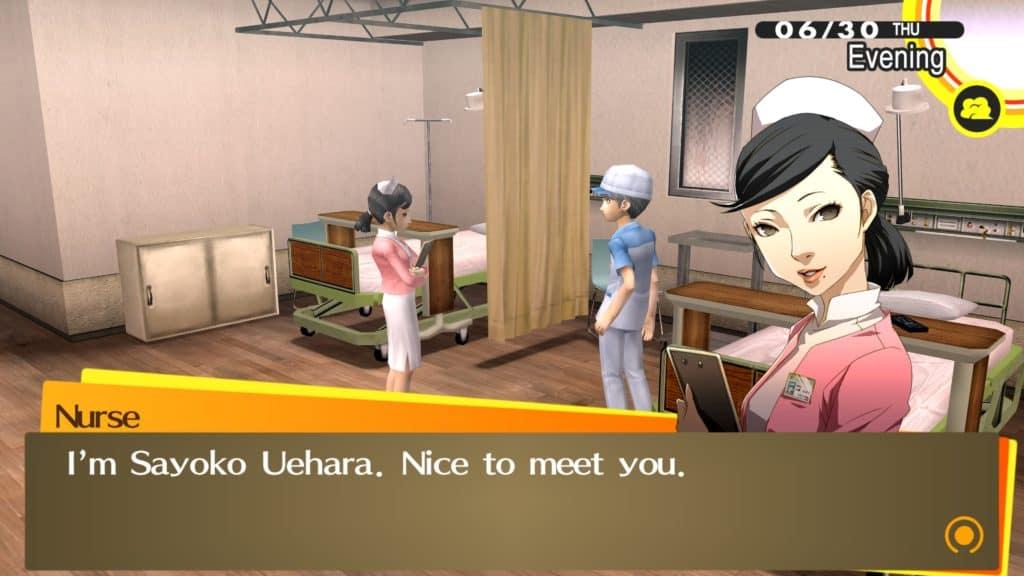 Yu e Sayoko Uehara all'ospedale