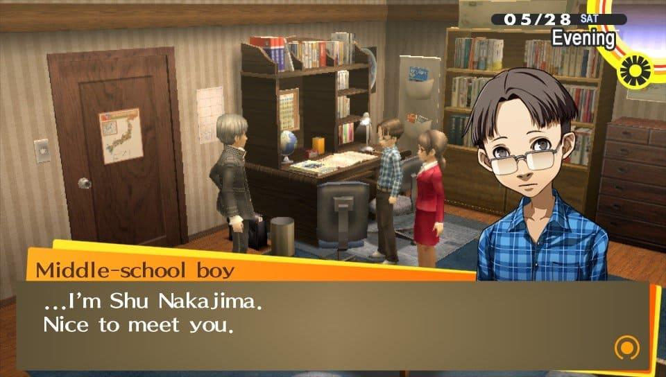 Yu incontra Shu Nakajima