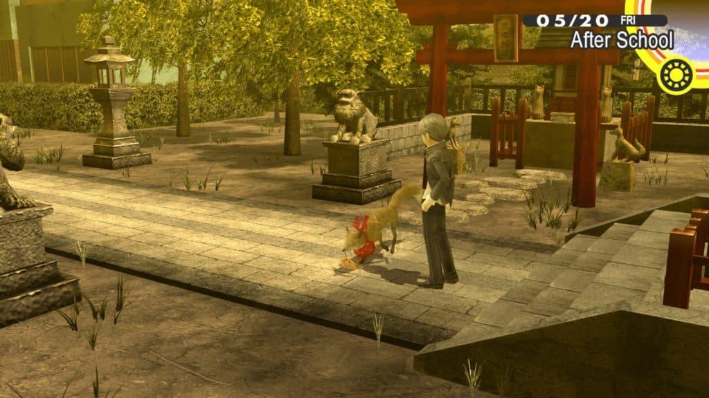 Yu e la volpe nel santuario