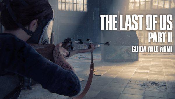 Ellie ha un fucile in mano e punta a destra