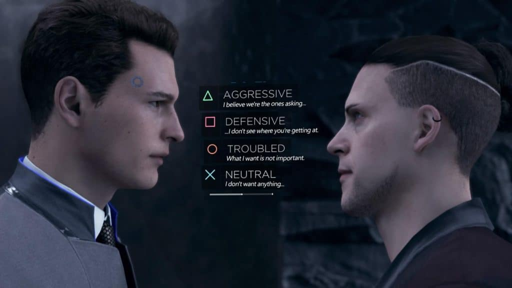Connor deve fare una scelta in Detroit: Become Human