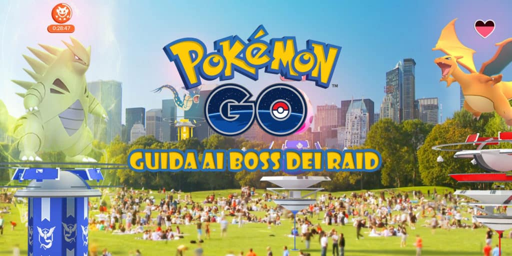 Tyranitar e Charizard su Pokémon GO