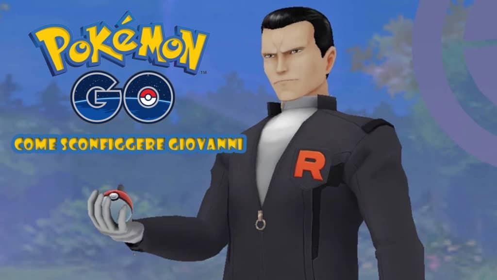 Giovanni stile Pokémon GO