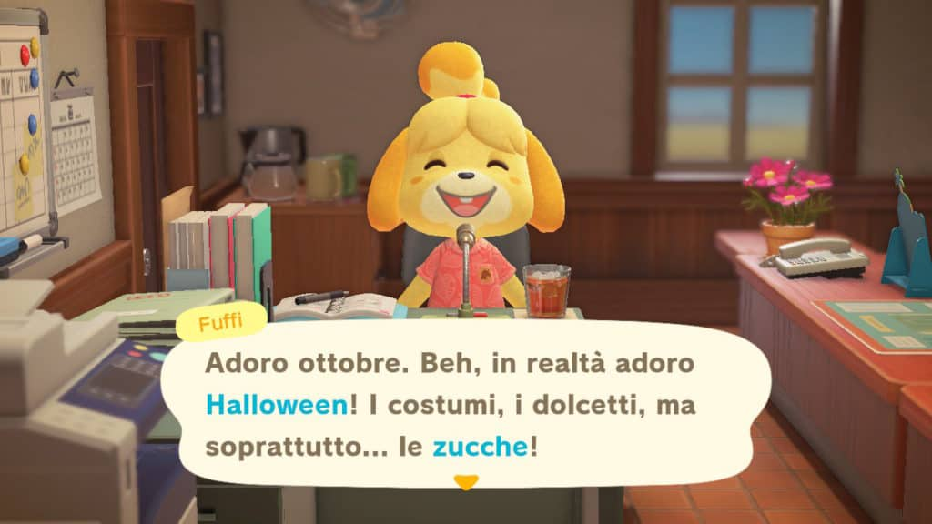 Annuncio di Fuffi di Halloween