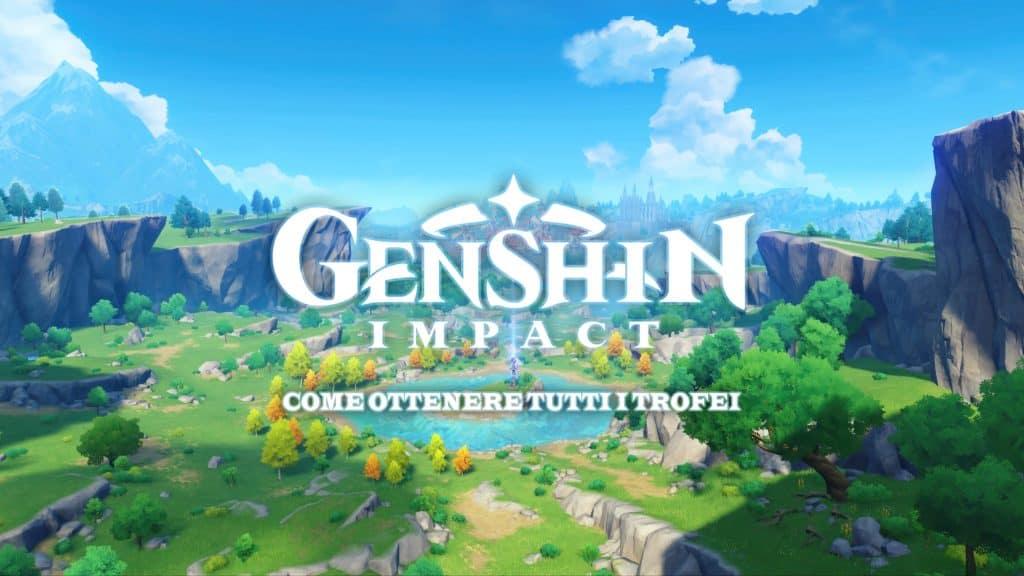 Guida ai trofei su PlayStation 4 di Genshin Impact
