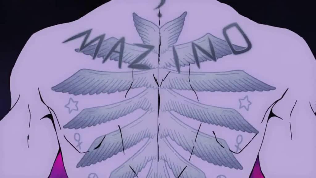 Urek Mazino e il suo iconico tatuaggio