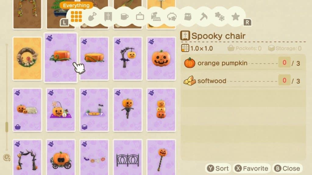 Lista di schemi Halloween