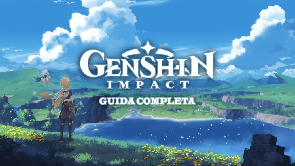 Artwork promozionale di Genshin Impact