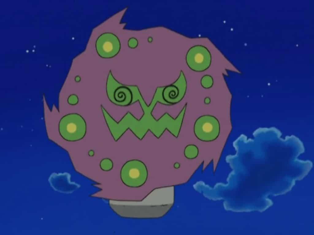 Spiritomb dall'anime di Pokémon