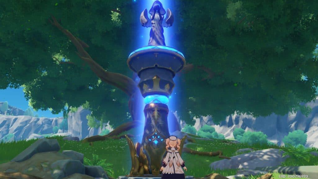 Una Statue of the Seven