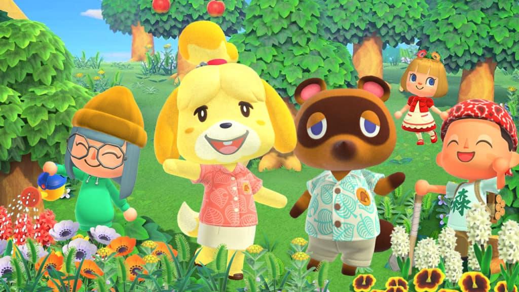 Personaggi di Animal Crossing New Horizons