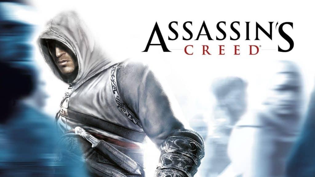 Immagine di copertina del primo Assassin's Cred