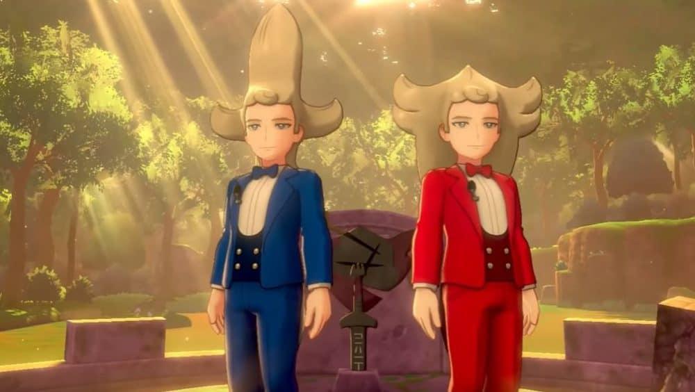 Brandobaldo e Scudobaldo, che nel post game servono a catturare i Pokémon leggendari