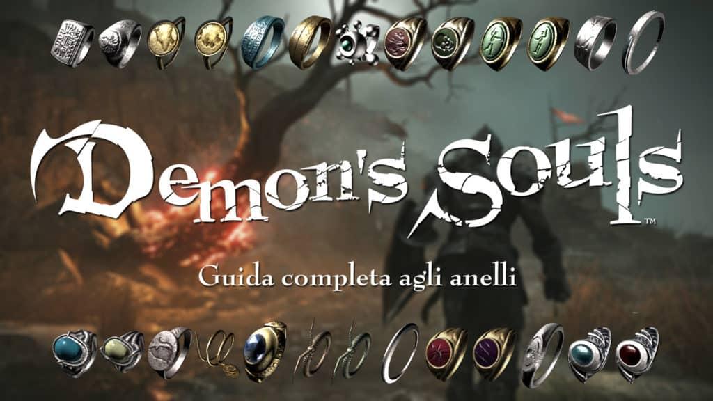 Tutti gli anelli di Demon's Souls